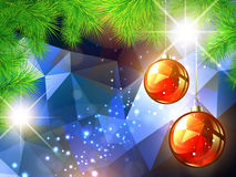 Christmas and New Year Background Stock Photos