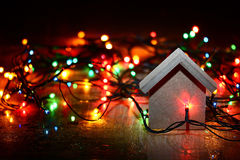 Christmas and New Year background Stock Photo