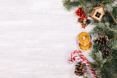 Christmas or new year background Royalty Free Stock Image
