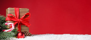 Christmas or New Year background Royalty Free Stock Photo