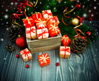 Christmas or New Year background Royalty Free Stock Photography