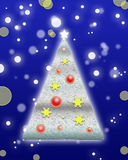 Christmas and New Year background. Greeting card design Stock Photo