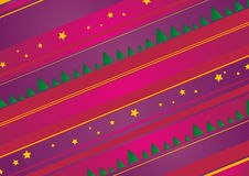Christmas / New Year background illustration Royalty Free Stock Images