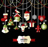 Christmas and new year background. Royalty Free Stock Photography