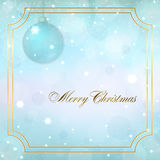 Christmas new year background Royalty Free Stock Photos