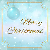 Christmas new year background Stock Photography