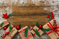 Christmas or New Year background, royalty free stock photos