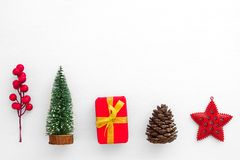 Christmas and New year background. royalty free stock image