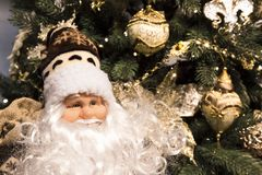 Christmas and New Year background. Santa Claus on the background Royalty Free Stock Images