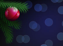 Christmas and New Year background. Stock Photo