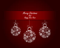Christmas. And New Year background. Vector illustration. EPS 10 with transparency royalty free illustration