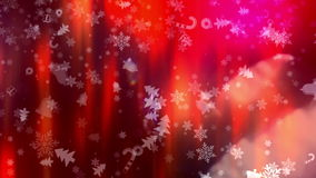 Christmas and New Year Background stock video footage