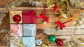 Christmas and New Year Background Royalty Free Stock Photos