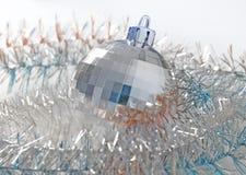 Christmas New Year ball decor Royalty Free Stock Image