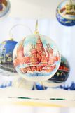 Christmas New Year ball decor  Royalty Free Stock Photo
