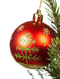Christmas and New Year ball Royalty Free Stock Photography