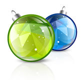 Christmas or New Year Balls Royalty Free Stock Image