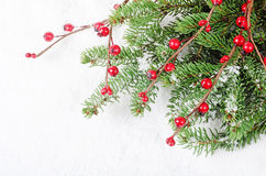Christmas and New Year Border Stock Images