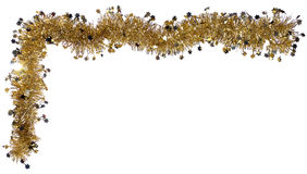 Christmas (or new year) border Stock Images