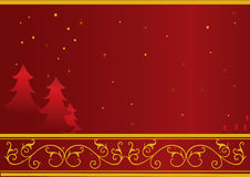 Christmas or New Year card Royalty Free Stock Images