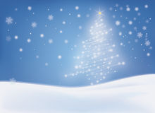 Christmas New Year card Royalty Free Stock Photography