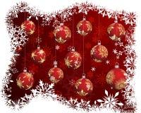 Christmas (New Year) card Royalty Free Stock Photo