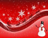 Christmas (New Year) card Stock Photo