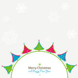 Christmas and new year card Stock Photo