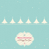 Christmas and new year card Royalty Free Stock Photos