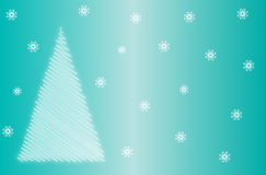 Christmas or New Year Card Royalty Free Stock Photo