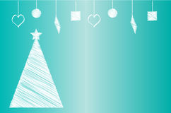 Christmas or New Year Card Stock Photography