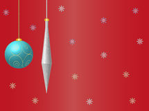 Christmas or New Year Card Stock Photos