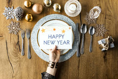 Christmas New Year Celebration Decorations Concept Royalty Free Stock Photos