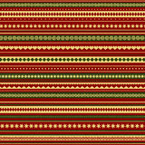 Christmas and New Year colored seamless pattern Stock Images