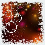 Christmas and New Year colorful blurred vector background Royalty Free Stock Photography