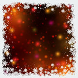 Christmas and New Year colorful blurred vector background Stock Image