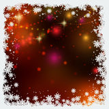 Christmas and New Year colorful blurred vector background Stock Photos