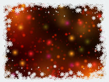 Christmas and New Year colorful blurred vector background Royalty Free Stock Image