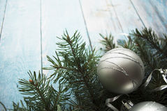 Christmas and New Year composition Stock Photos