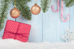 Christmas and New Year concept background Stock Photography