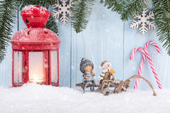 Christmas and New Year concept background Royalty Free Stock Photography