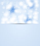 Christmas and new year day sky snowing Royalty Free Stock Images