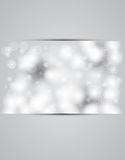Christmas and new year day sky snowing banner. Vector Royalty Free Stock Images