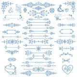 Christmas,New year decor set.Winter elements Royalty Free Stock Images