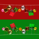 Christmas and new year decorated Royalty Free Stock Photography