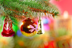 Christmas and New Year decoration. Royalty Free Stock Images