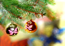 Christmas and New Year decoration. Stock Photo