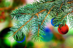 Christmas and New Year decoration. Royalty Free Stock Photo