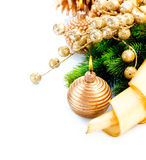 Christmas and New Year Decoration Royalty Free Stock Photos
