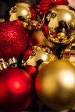 Christmas and New Year decoration  balls Stock Image